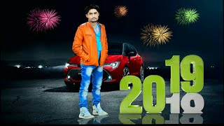 Happy New Year photo Editing in PicsArt || 2019 editing tutorial || Must watch
