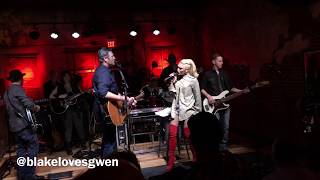 "Blake and Gwen sing ""Go Ahead and Break My Heart"" February 10, 2018"