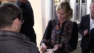 EXCLUSIVE - The beautiful Eva Herzigova in Cannes