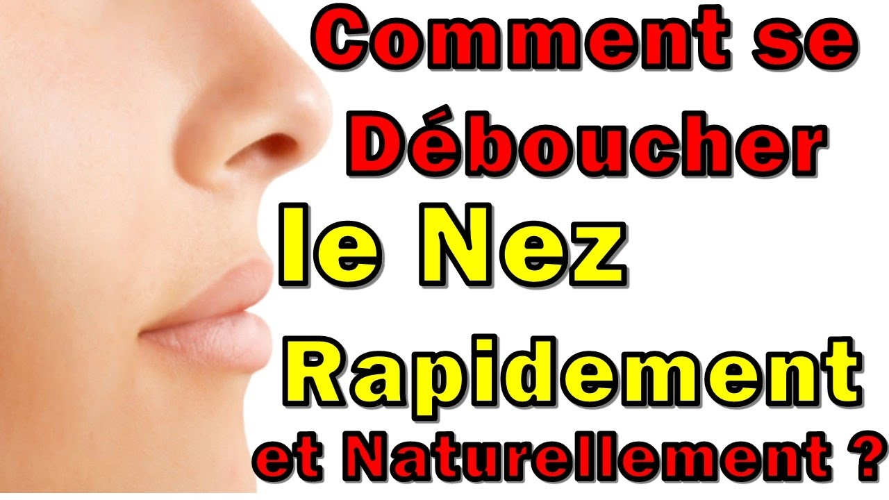comment se d boucher le nez rapidement et naturellement youtube. Black Bedroom Furniture Sets. Home Design Ideas