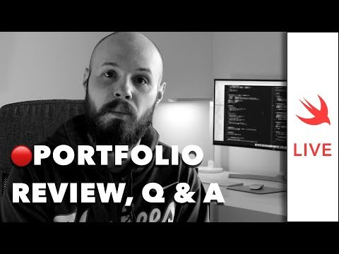 LIVE: iOS Dev Portfolios & Resumes, Updates, Q&A