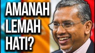 AMANAH MURAH HATI, BUKAN LEMAH HATI