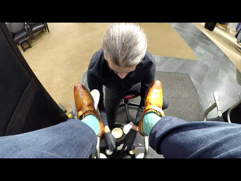 Tales from the shine stand, ASMR, Denver's best shoe shine