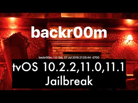 How To Jailbreak Apple TV with Backr00m