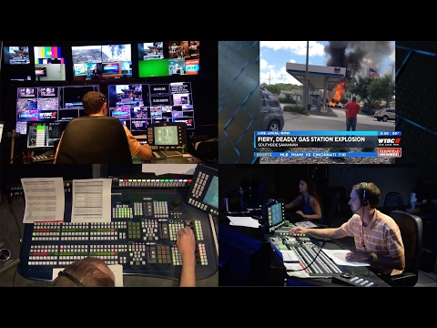 Director Reel: WTOC-TV 6pm Newscast (Behind The Scenes)