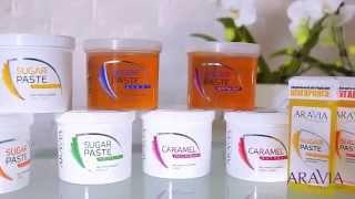 Как делать шугаринг (сахарную эпиляцию) Aravia Professional