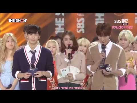 [ENG] 150901 VIXX LR 'Beautiful Liar' 1st Win + Encore Stage @ THE SHOW