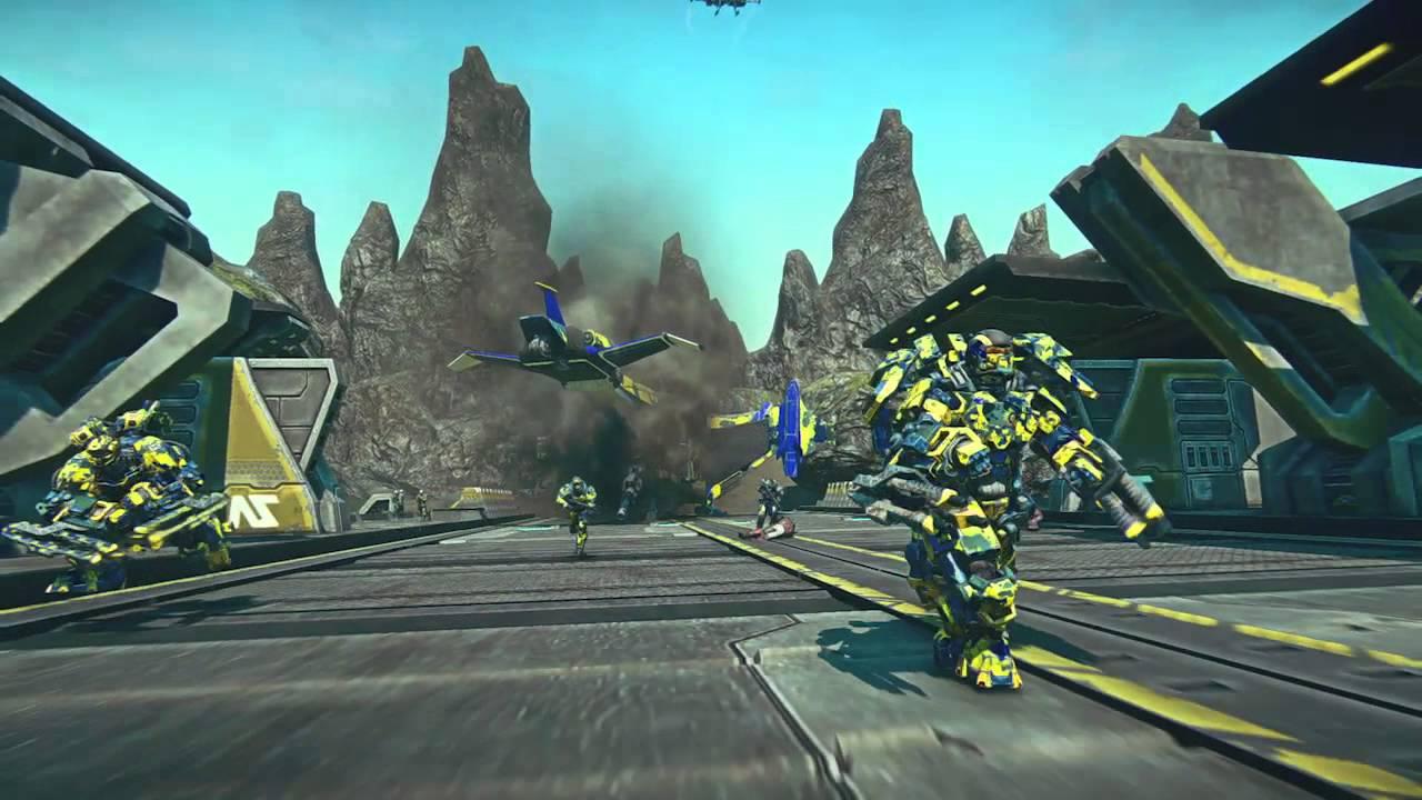 PlanetSide 2 E3 2014 PlayStation 4 Trailer