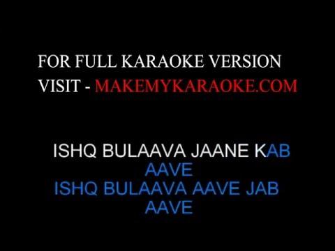 Karaoke:  Ishq Bulaava valintine Spl -Sanam Puri