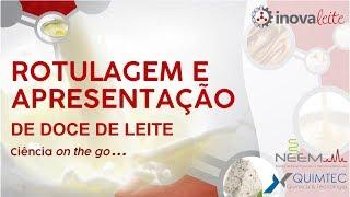 Rotulagem e apresentação de doce de leite - Ciência on the go...