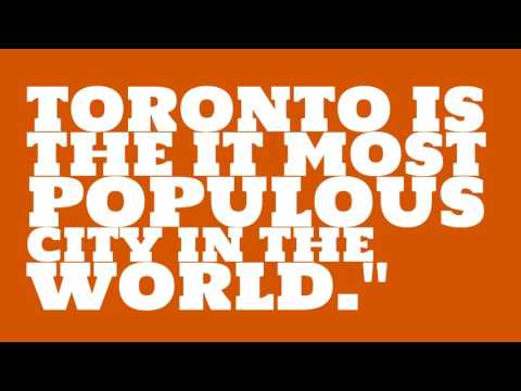 What is the population of Toronto?