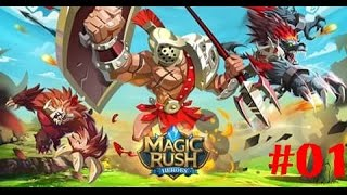 видео Обзор игры для android Magic Rush: Heroes