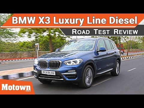 All-New BMW X3 Luxury Line diesel | Road Test Review