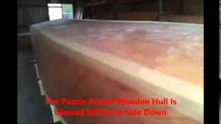 Boatbuildercentral.com Builds A Classic Wooden Boat 18 Foot Jetabout Jet Drive 772-770-1225