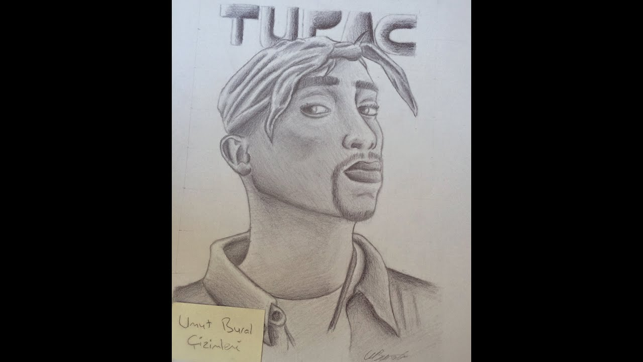 how to draw tupac youtube