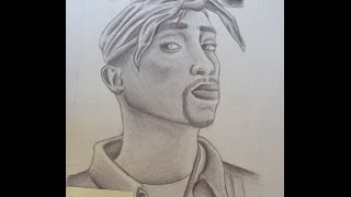 Tupac Drawing - Tupac Çizimi