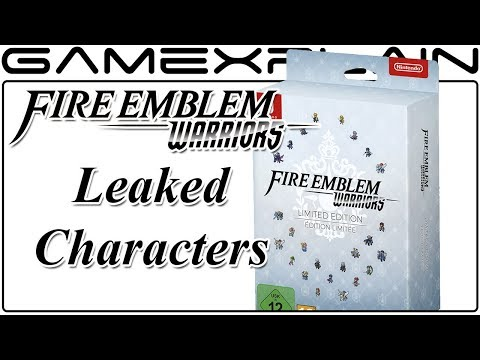Fire Emblem Warriors - Final 5 Characters Potentially Leaked