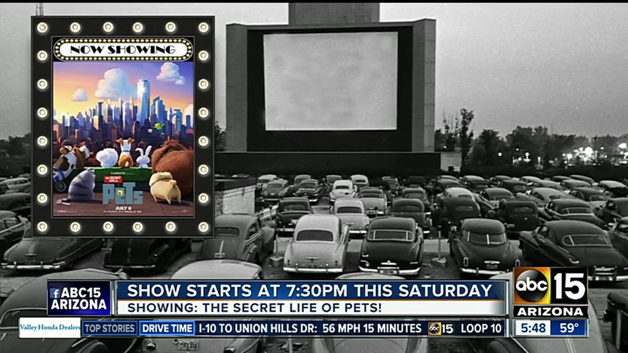 Drive In Movies Return To Scottsdale
