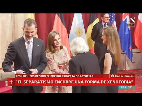 Les Luthiers recibió el premio princesa de asturias - Café de la Tarde