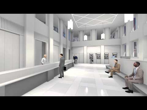 Bremer Landesbank - 3D-Animation Neubau