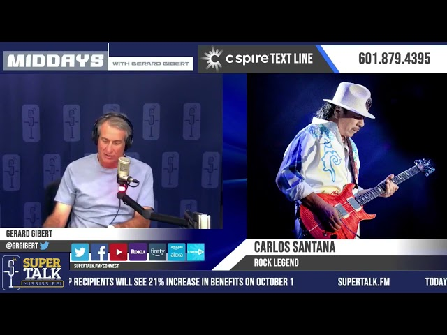 Carlos Santana's Musical Influences and More