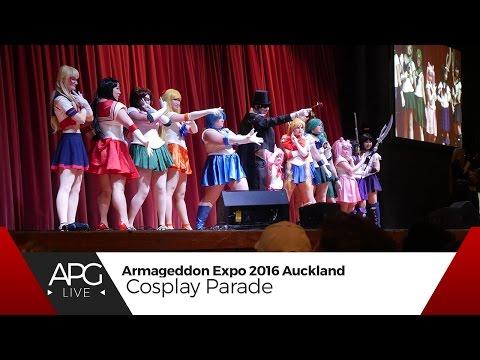 Armageddon Expo Auckland 2016 : Saturday - Cosplay Parade [#APGLive]