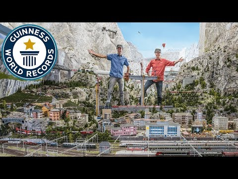 Miniatur Wunderland: Largest model train set – Meet The Record Breakers