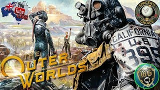 The Outer Worlds 🪐 Live Game Play - The Game Fallout 76 Should Have Been!!!