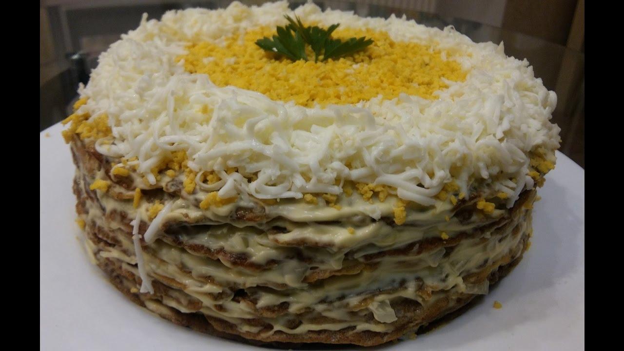 как приготовить вкусный торт из печени