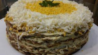 ОЧЕНЬ-ОЧЕНЬ ВКУСНЫЙ ПЕЧЕНОЧНЫЙ ТОРТ. Как приготовить вкусный печеночный торт.
