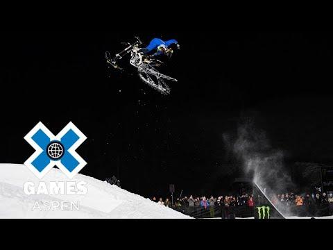 Snow Bike Best Trick: FULL BROADCAST   X Games Aspen 2018
