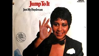 "Aretha Franklin - Jump To It / Just My Daydream - 7"" Germany (2) - 1982"