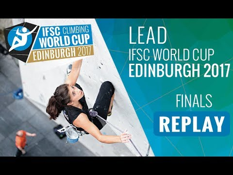 IFSC Climbing World Cup Edinburgh 2017 - Lead - Finals - Men/Women