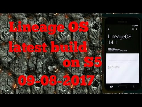 Lineage OS 14 1 on galaxy s5 G900h by All about technology 24x7