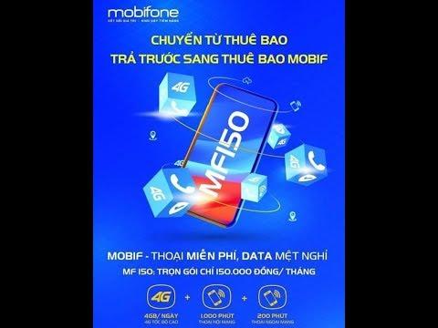 Gói Cước MF150 Trả Sau Của MobiFone