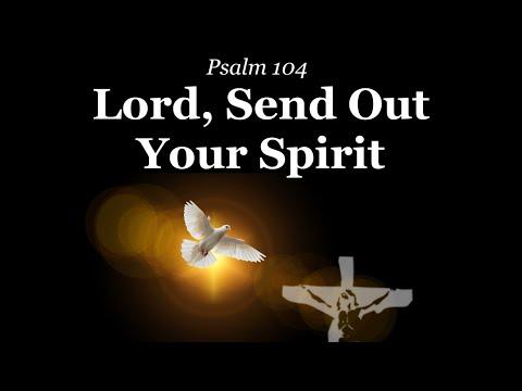 Lord, Send Out Your Spirit | Psalm 104 | Pentecost | K.Canedo | Choir & Lyrics | Sunday 7pm Choir