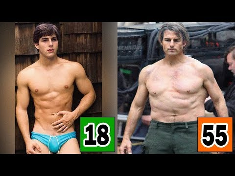 Tom Cruise Age And Body Transformation From 1962 To 2019 Youtube