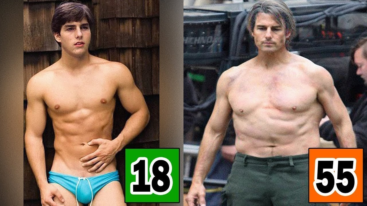 Tom Cruise Age And Body Transformation From 1962 To 2019 ...