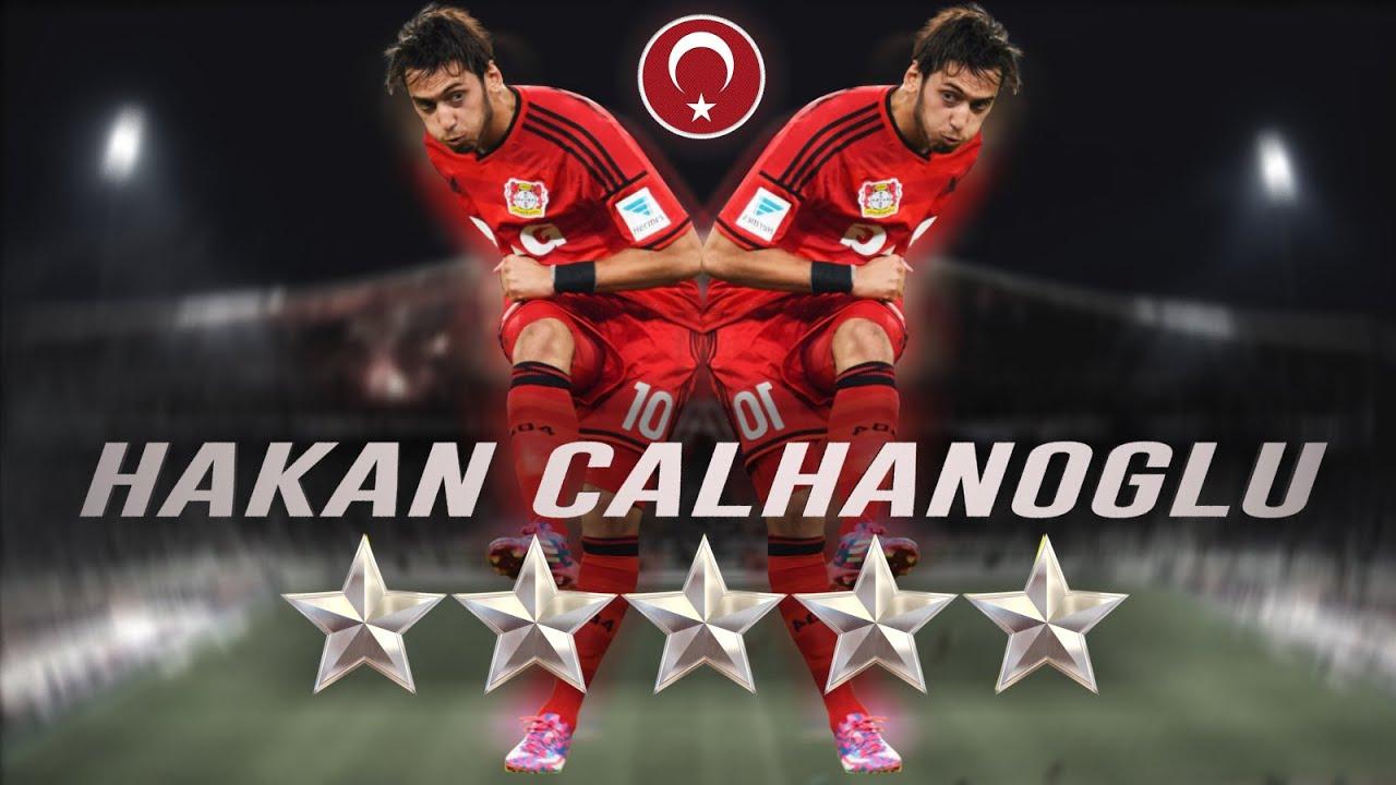 Hakan Çalhanoğlu • İnanılmaz Goller • New Turkish SuperStar • HD
