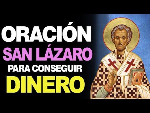 🙏 Oración a San Lázaro para CONSEGUIR DINERO en Abundancia 💵 Atrae Prosperidad