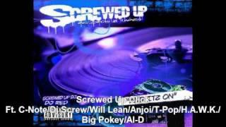 Screwed Up Click- Dj Screw,C-Note,Will-Lean,Big Pokey,Big H.A.W.K.,Al-D(Slowed &Chopped) by Dj Red