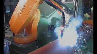 Cloos Robotic Welding - System Examples 1