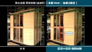 MIRAIE熊本地震再現実大振動台実験2017