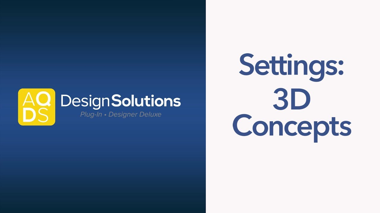 AQ Design Solutions – 3-D Concepts