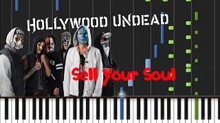 Hollywood Undead - Sell Your Soul [Piano Cover Tutorial] (♫)