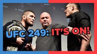 SECRET Closed-Door Location Set For UFC 249
