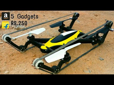 5 Cool DRONE You Can Buy on Amazon | New Technology Drone Camera CooL Gadgets thumbnail