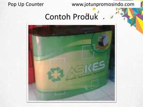 Pop Up Counter / Meja Pameran Portable (081 228 353 153)