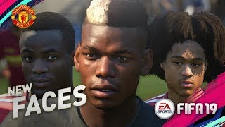 FIFA 19 Demo | MANCHESTER UNITED NEW PLAYER FACES