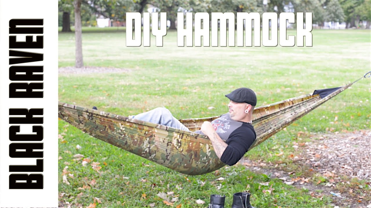 diy camping hammock   youtube  rh   youtube